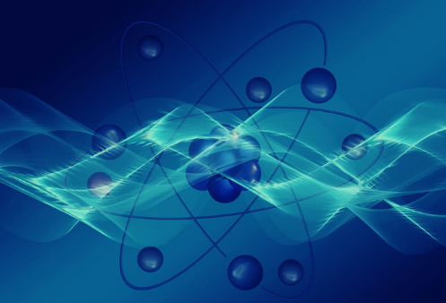 Graphic illustration representing Photons