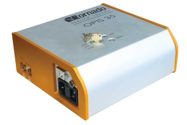 OPIS 35 ATEX Laser Accessory - 3/4 view